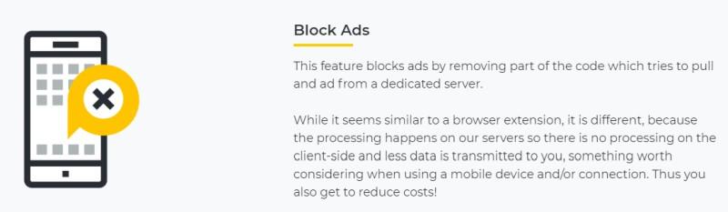 CyberGhost  adblock