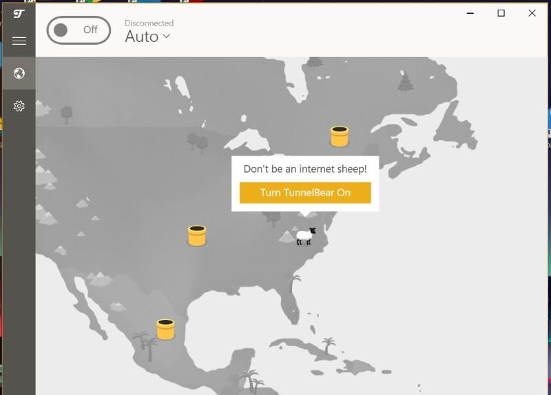 TunnelBear VPN app1