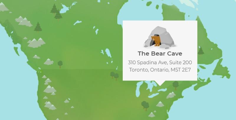 TunnelBear VPN bear cave