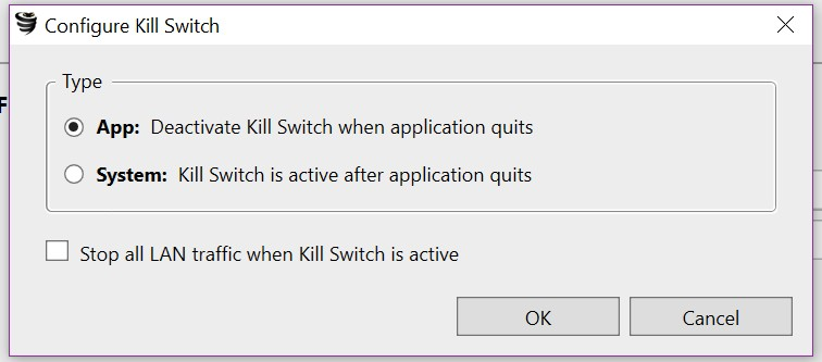 vyprvpn kill switch