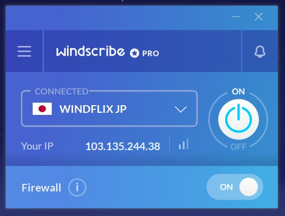 Windscribe netflix