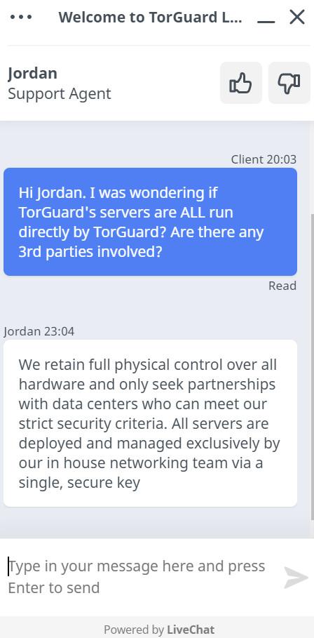 TorGuard chat1