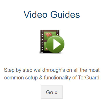 TorGuard support