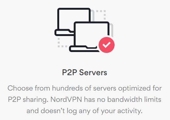 nord p2p servers