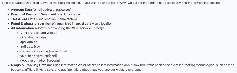 tigervpn privacy policy