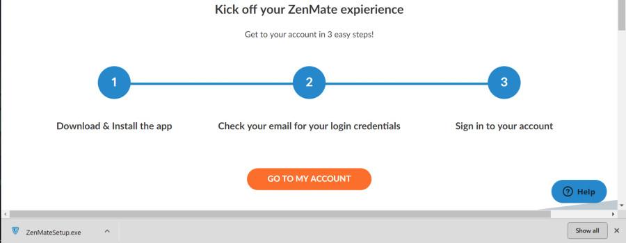 zenmate start download