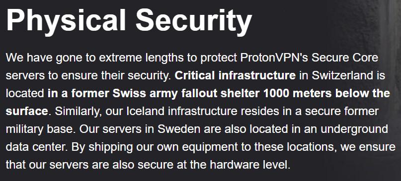 proton server security