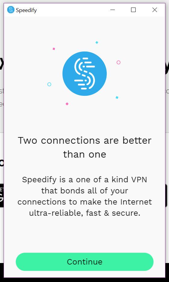 speedify app intro