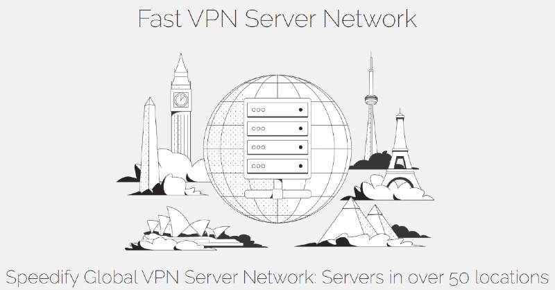 speedify server locations