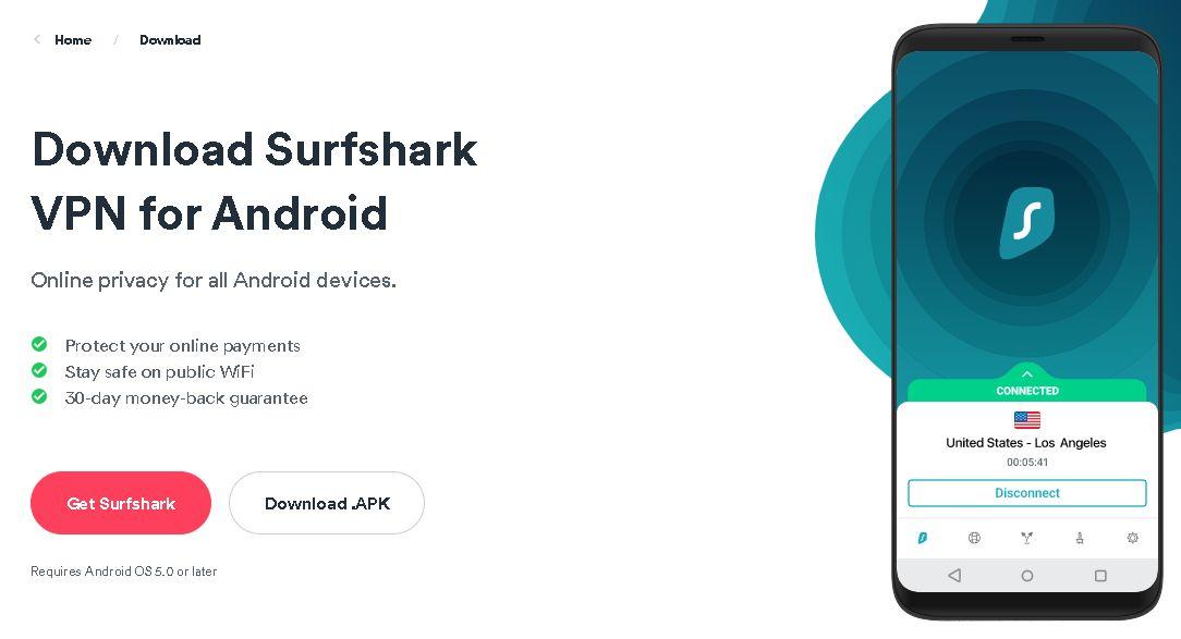 Download Surfshark VPN APK for Android